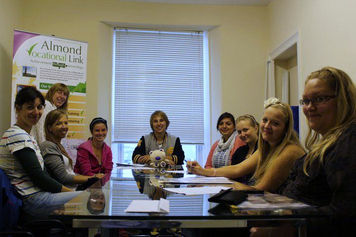 English language training with Almond Vocational Link
