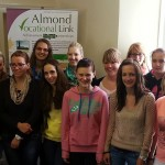 European Students at Almond Vocational Link Office