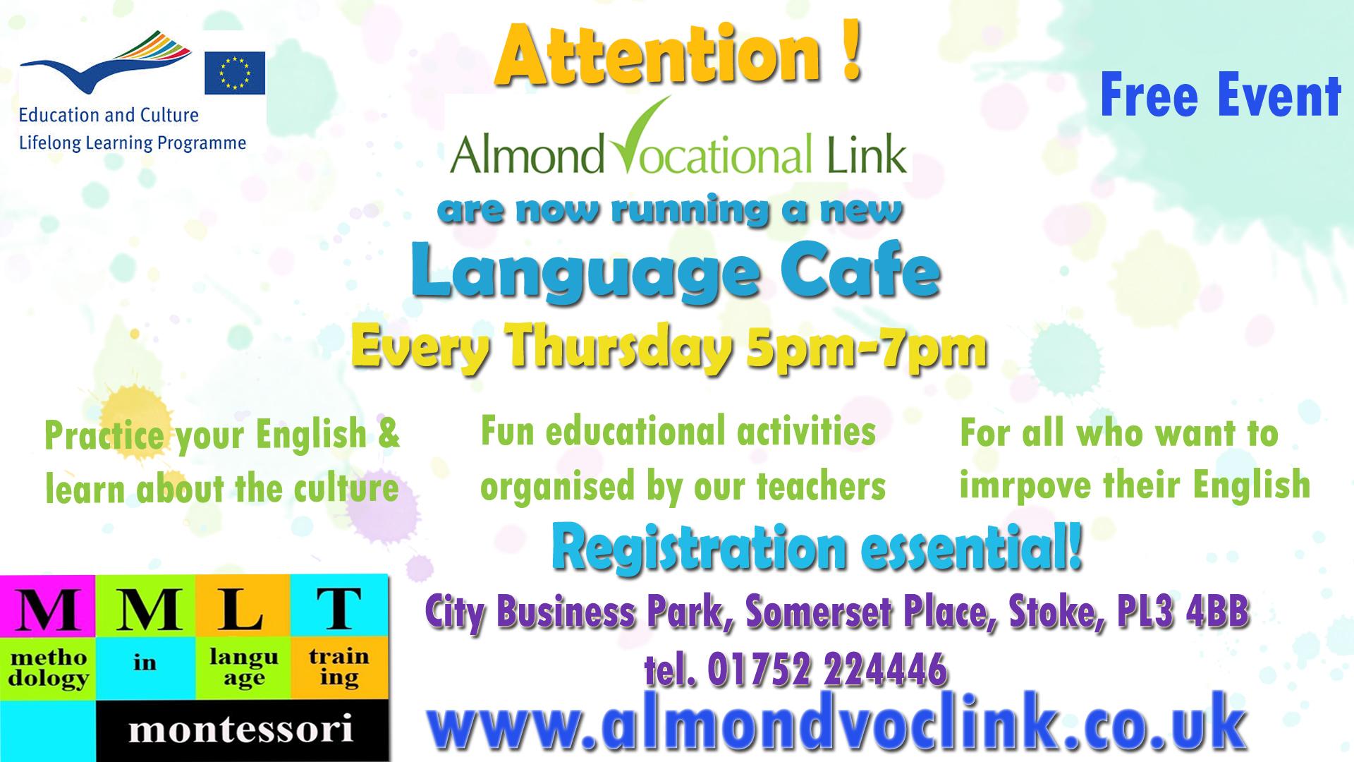 Language Cafe Almond Voc Link