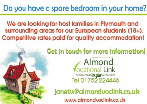 Host_Families_Almond_Vocational_Link_Plymouth