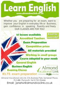 English Language Training poster