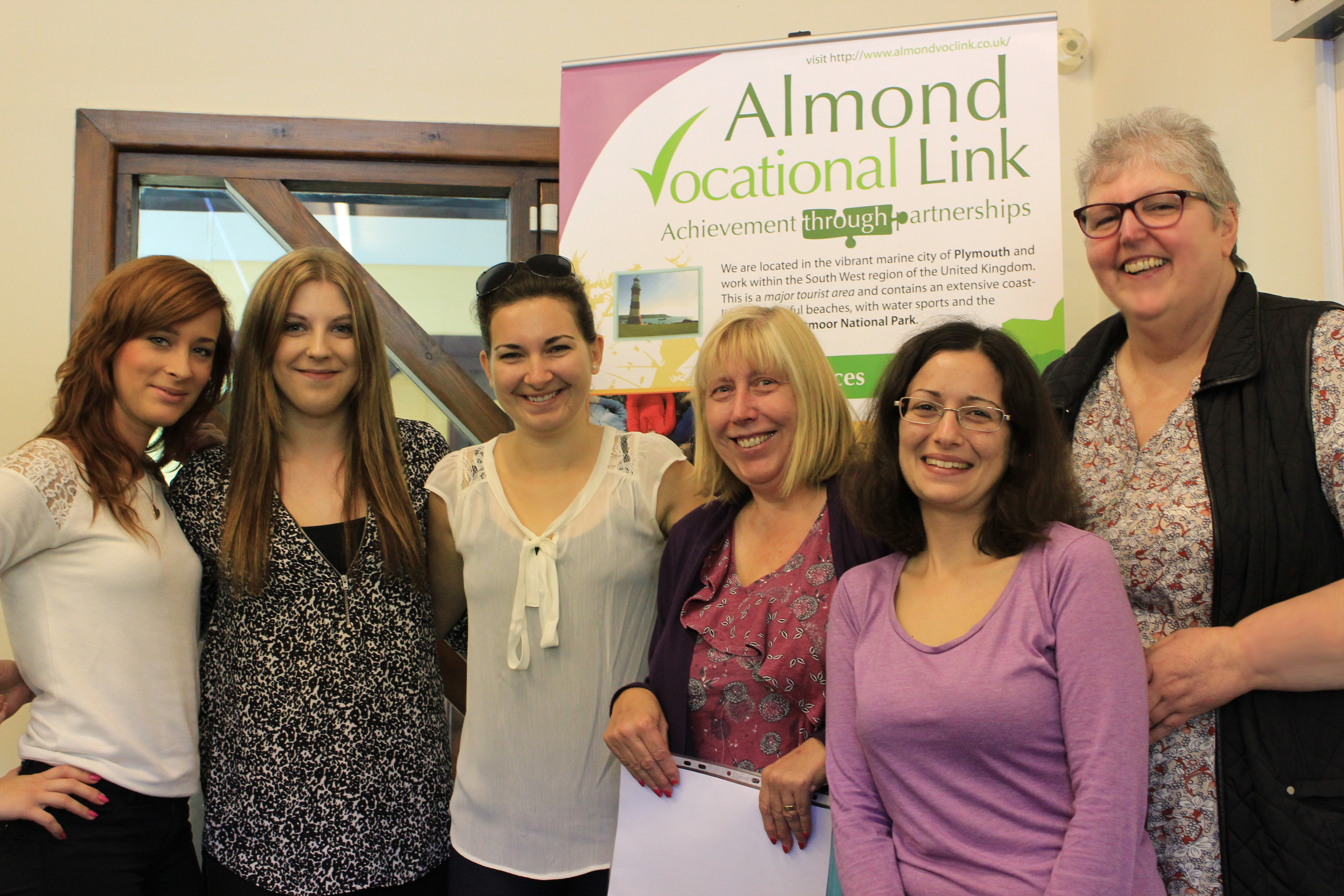 Group photo Almond Plymouth UK