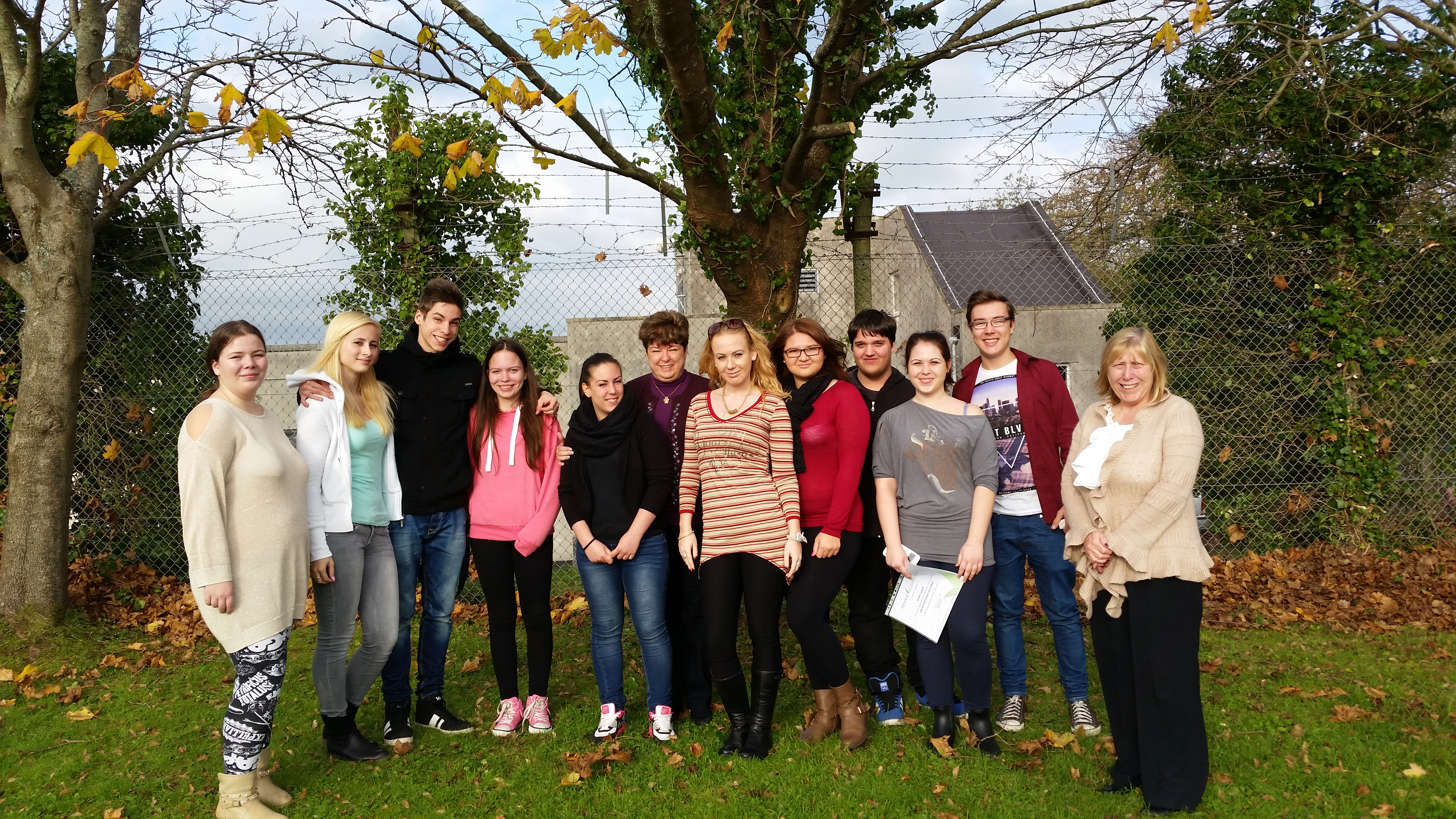 Erasmus+ Work Experiece Students from Hungary Almond Vocational Link