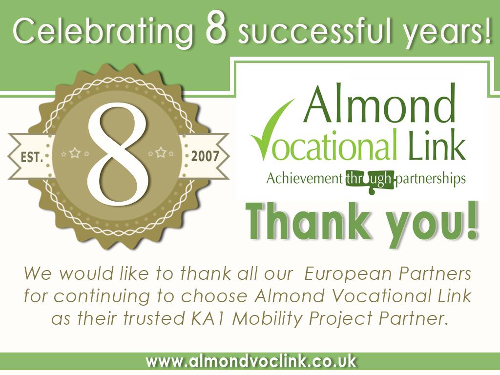8th Work Anniversary 8th Anniversary Almond