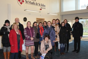 Study Visit To University of St Mark and St John Plymouth Almond Vocational Link