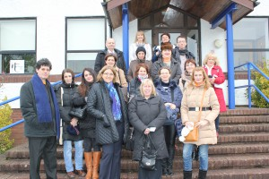 Visit to Cornwall College Romanian Partners Almond Vocational Link