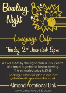 Language Cafe Bowling Night Plymoyth Almond Vocational Link