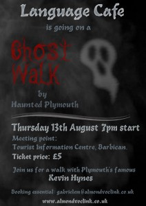 Language Cafe Ghost Walk 13th August
