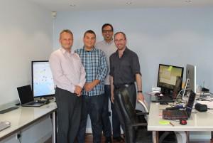 Monitoring Visit Erasmus Plus student Almond Vocational Link Plymouth UK