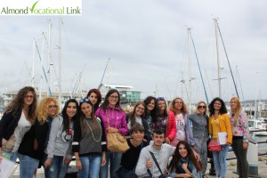 Welcome Tour of Erasmus Plus Students Almond Vocational Link Plymouth UK
