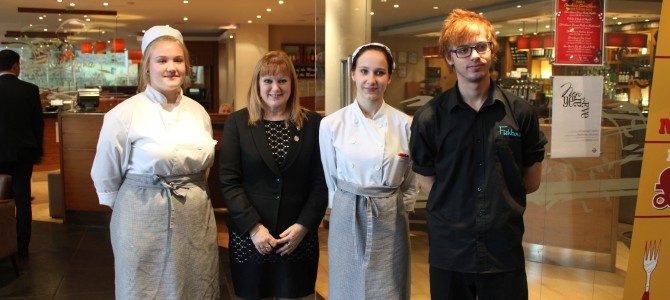 """Lithuanian ECVet Learners Explore """"European Menu"""" with Plymouth Restaurants for Erasmus Plus Project"""