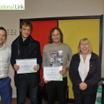 Certificates ESF EU project Almond Vocational Link Plymouth UK