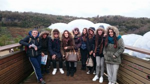 Erasmus Plus Cultural Trip to Eden Project Almond Vocational Link UK