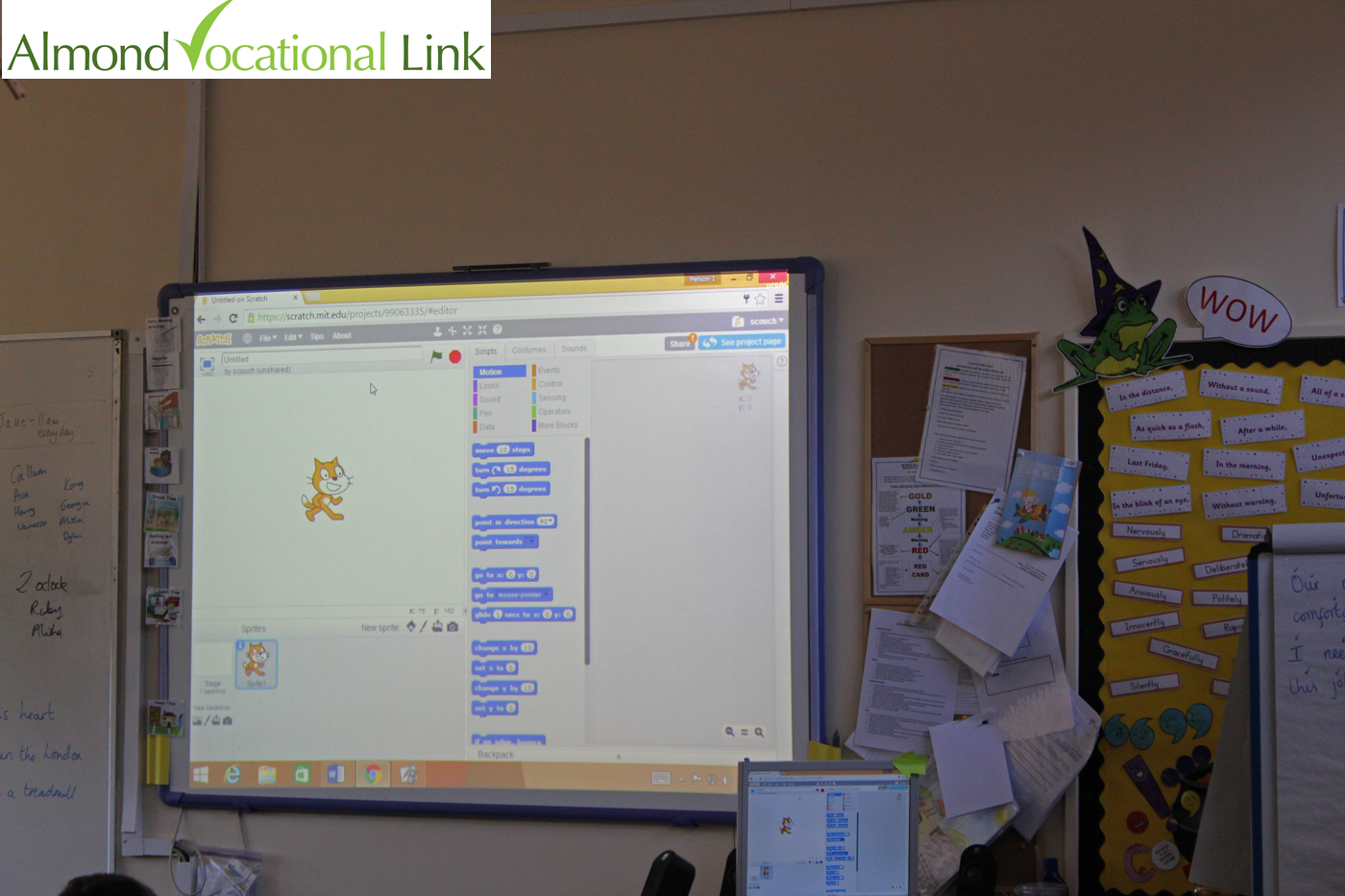 Modern Technologies Used In Classroom : Primary school using modern technologies in classroom