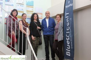Visit to BluescreenIT Plymouth ErasmusPlus Almond Vocational Link UK KA1 Training 3