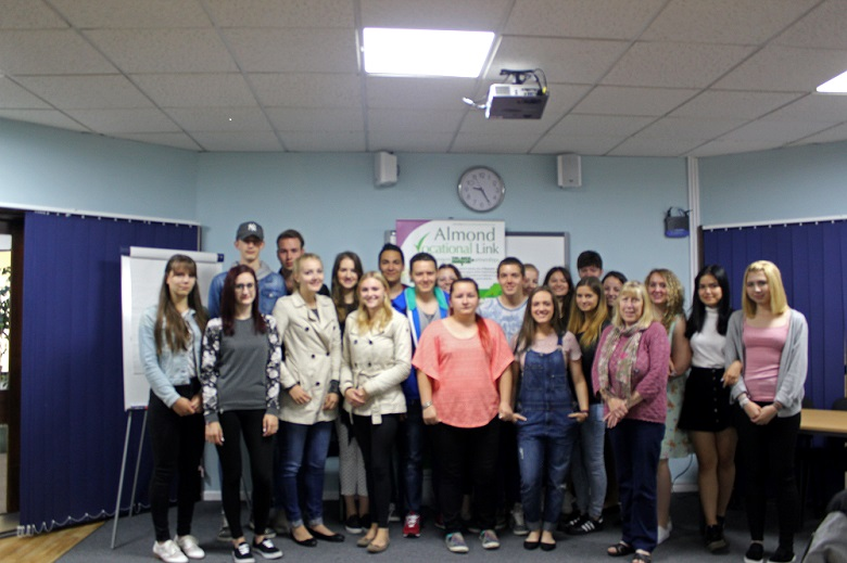 Certificate Ceremony Austrian Erasmus Plus Students Almond Vocational Link
