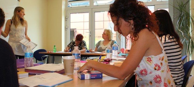 Intensive English Language course in October