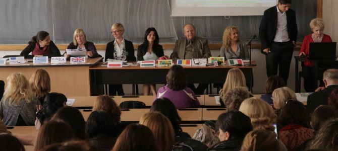 European Project Final International Conference in Romania