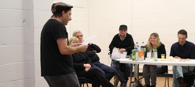 Language Cafe – British Poetry Evening with PCQ Arts