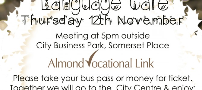 Plymouth Christmas Light Switch On – Language Cafe Group Outing